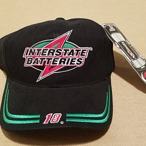 NWOT Bobby Labonte #18 Interstate Batteries cap